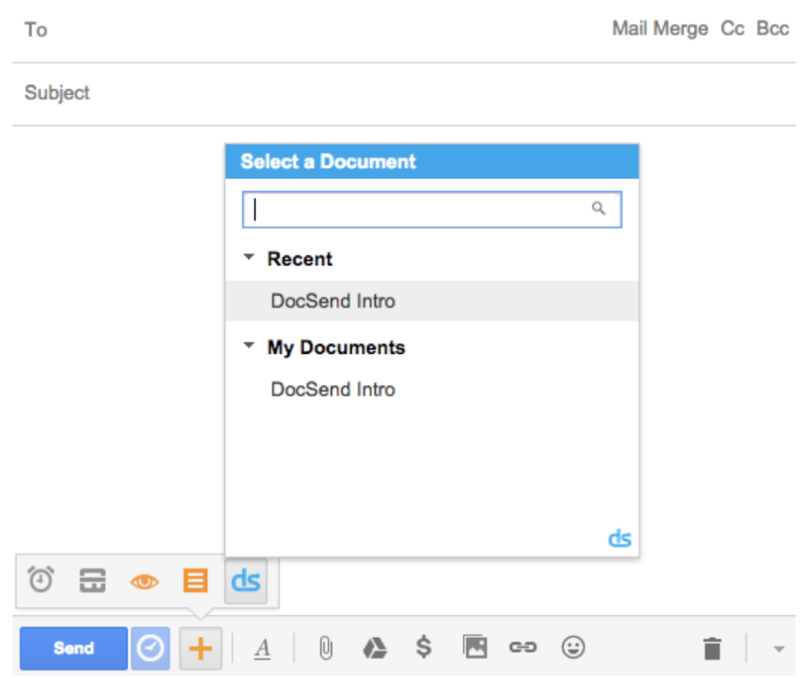 Permission options for a document's link, including allowing downloads, requiring email verification, and more.