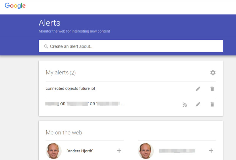 One of my Google Alerts on the internet of things (IOT).