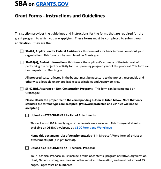 how to write a grant application proposal