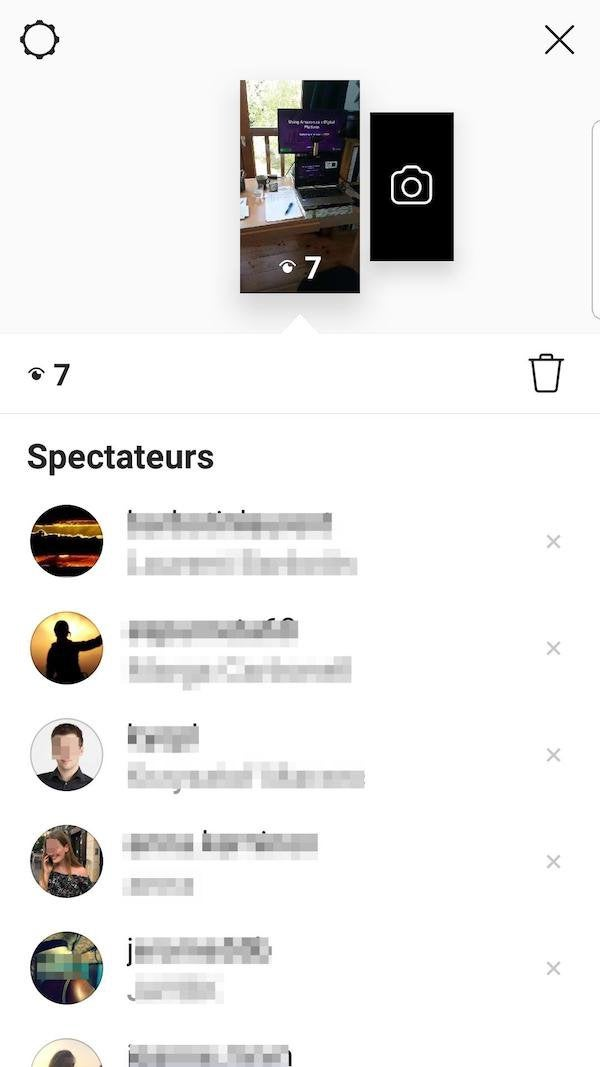 Screenshot of Instagram Live