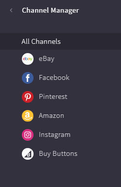 A screenshot of BigCommerce's marketing channels.