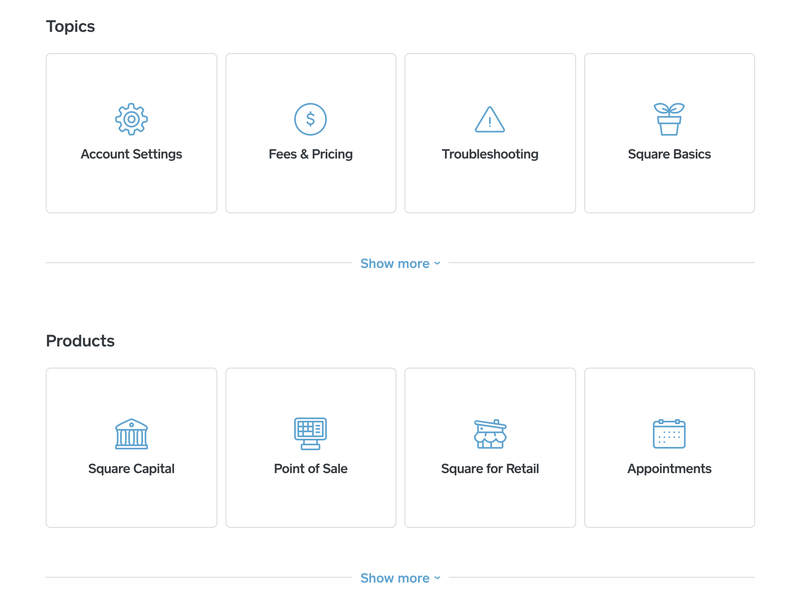 The Square Appointments resource library for troubleshooting and learning the tool.