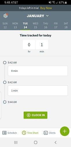 The Jobber's app for technicians.